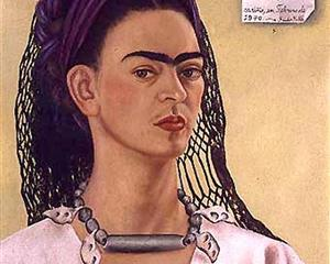 Self Portrait Dedicated to Sigmund Firestone - Frida Kahlo