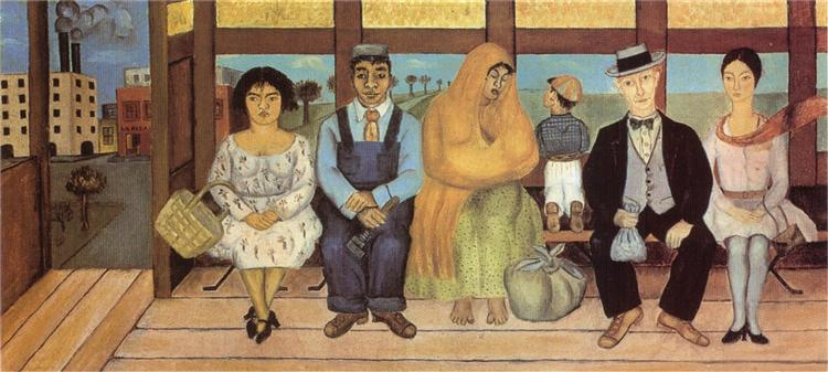 The Bus, 1929 - Frida Kahlo