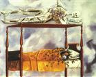 The Dream (The Bed) - Frida Kahlo