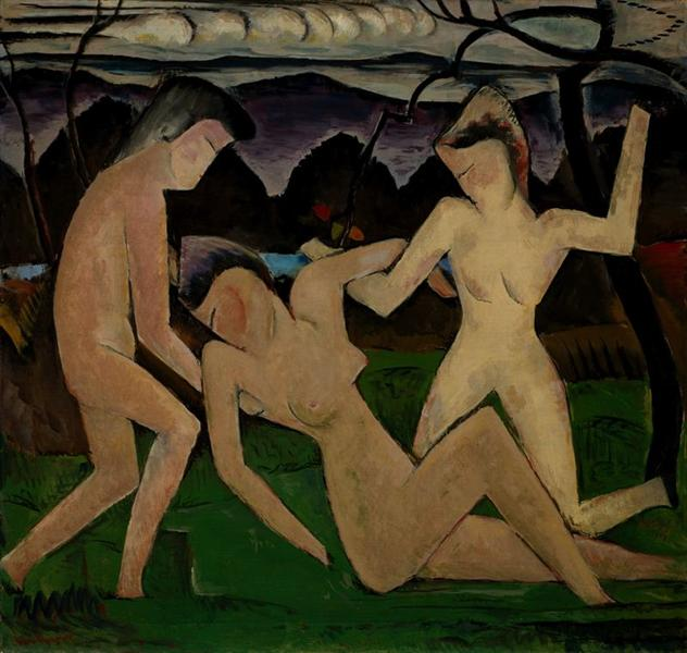 Departure of Summer, 1914 - Man Ray