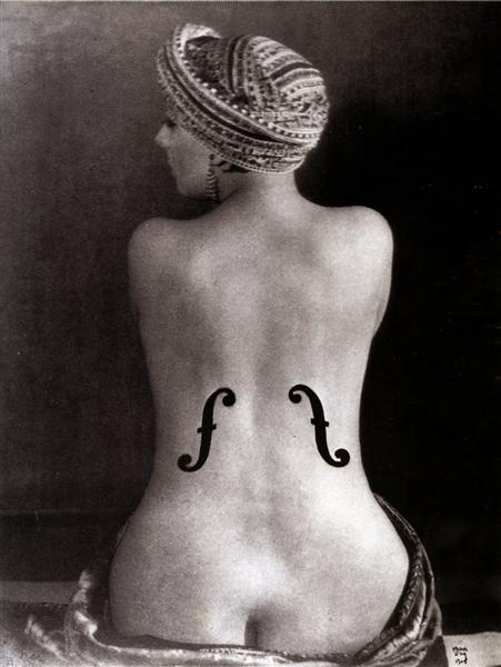Ingre's Violin, 1924 - Man Ray
