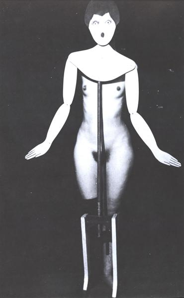 The Coat Stand, 1920 - Man Ray