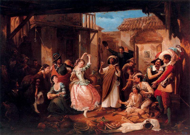Rinconcete y Cortadillo, 1865