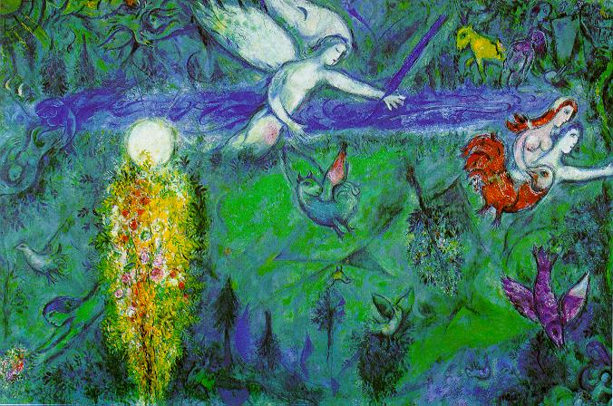 Adam and Eve expelled from Paradise, 1961 - Marc Chagall
