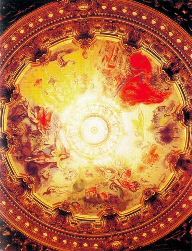 Ceiling of Paris Opera House - Marc Chagall