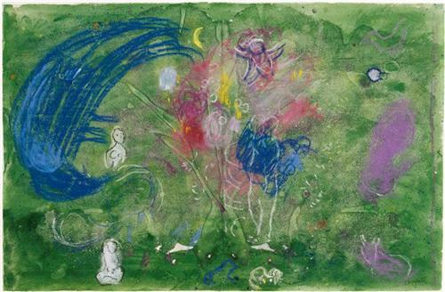 Paradise - Marc Chagall