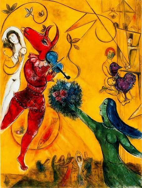 The Dance, 1951 - Marc Chagall