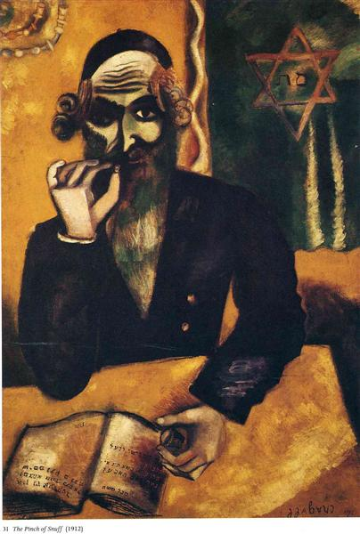 The Pinch of Snuff, 1912 - Marc Chagall