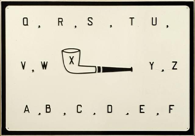 Pipe, 1969 - Marcel Broodthaers