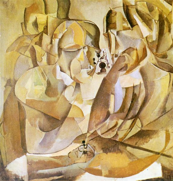 Portrait of Chess Players, 1911 - Marcel Duchamp