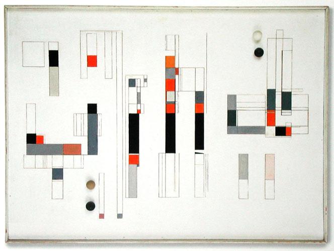 4 sphères, 1960 - Marcelle Cahn