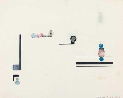 Composition - Marcelle Cahn