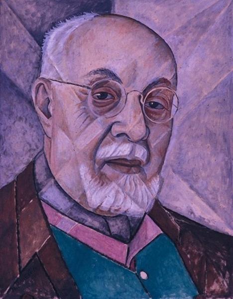 Portrait of Henri Matisse, 1956 - Marevna (Marie Vorobieff)