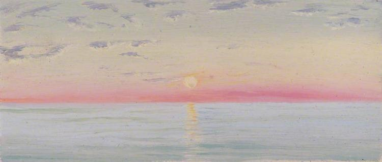 Red Sea, 1880 - Marianne North