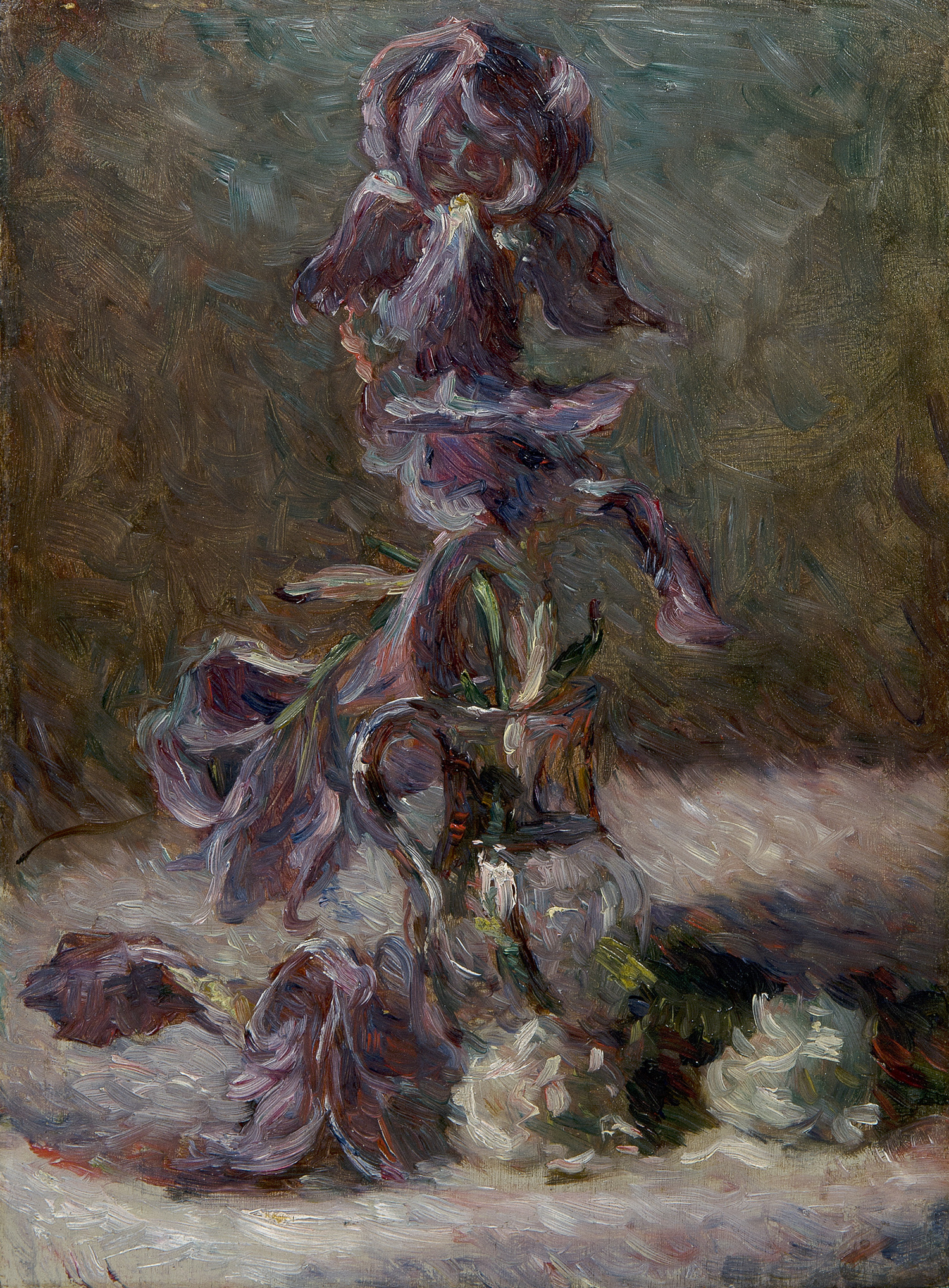 Iris in a vase 1886