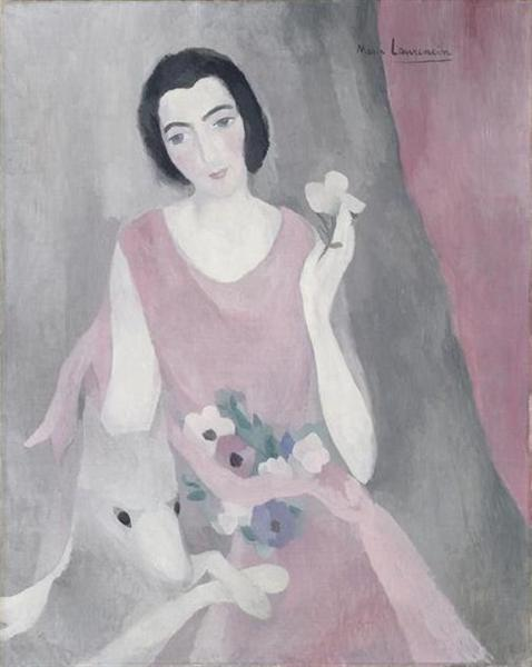 Portrait of Madame Paul Guillaume, 1928 - Marie Laurencin
