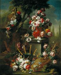 Vase and Flowers - Mario Nuzzi