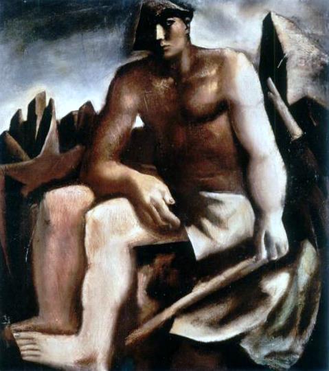 The Pastor, 1932 - Mario Sironi
