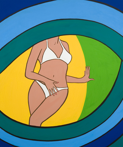 Eyeful, 2010 - Marjorie Strider