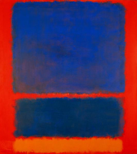 Blue, Orange, Red - Mark Rothko