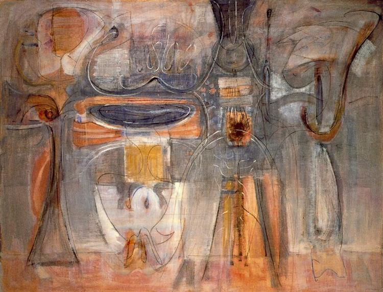 Rites of Lilith, 1945 - Mark Rothko
