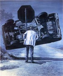 Pleasure of the Text - Mark Tansey