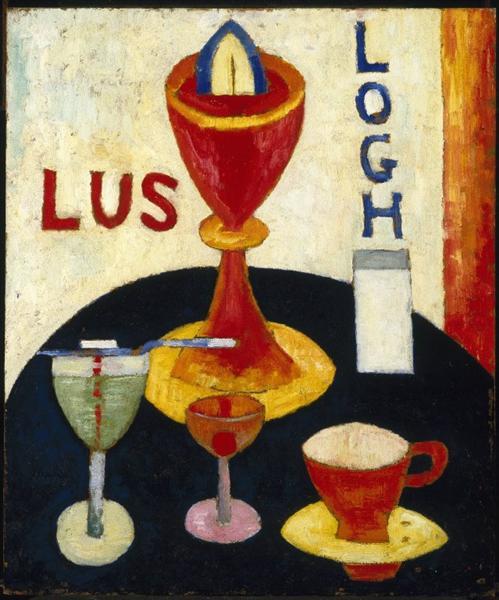 Handsome Drinks, 1916 - Marsden Hartley