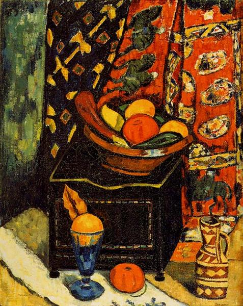 Still Life, No. 1, 1912 - Marsden Hartley