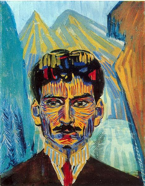 Self-portrait, 1909 - Martiros Sarian