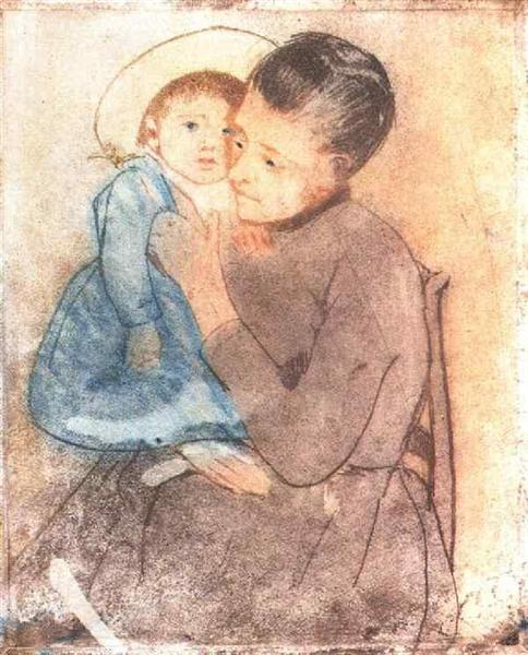 Baby Bill, 1890 - Mary Cassatt