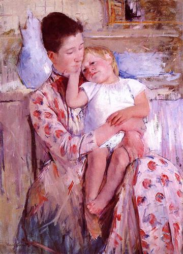 Emmie and Her Child - Mary Cassatt