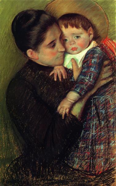 Helene de Septeuil, 1889 - Mary Cassatt
