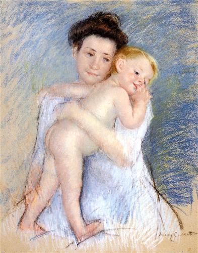 Maternal Tenderness - Mary Cassatt