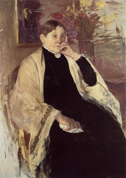 Mrs. Robert S. Cassatt (Katherine Kelson Johnston Cassatt), 1889 - Mary Cassatt