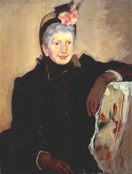 Portrait of an elderly lady, 1883 - Mary Cassatt