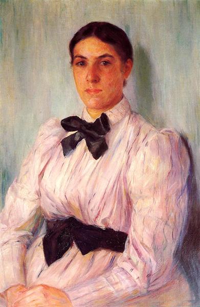 Portrait of Mrs William Harrison, c.1890 - Mary Cassatt