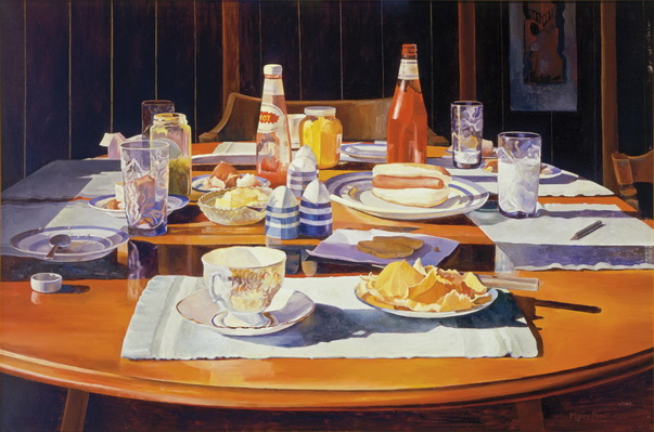 Supper Table, 1969 - Mary Pratt