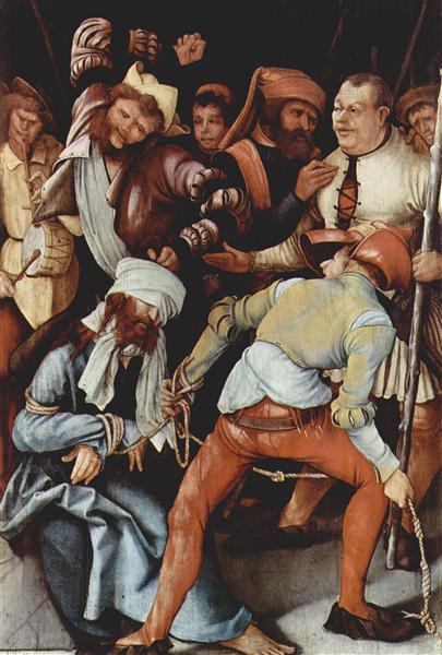 The Mocking of Christ, 1503 - Matthias Grünewald