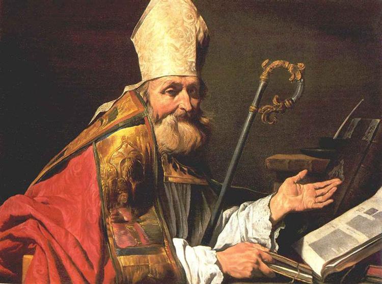 St. Ambrose - Matthias Stom