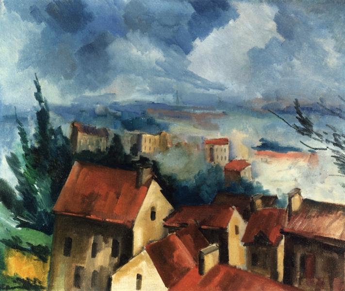 Beauce Landscape, 1910 - Maurice de Vlaminck
