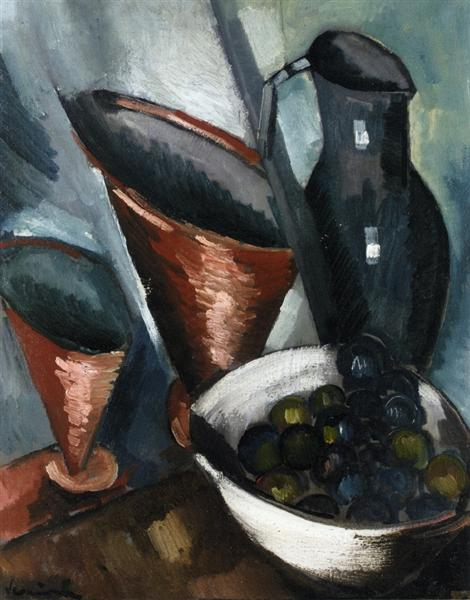Still Life Copper Goblets, c.1909 - c.1910 - Maurice de Vlaminck
