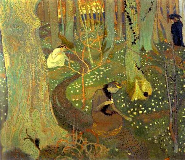 Easter Morning or Easter Mystery, 1891 - Maurice Denis