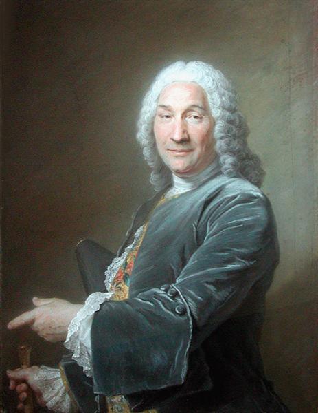 Portrait of René Frémin, Sculptor, 1743 - Maurice Quentin de La Tour