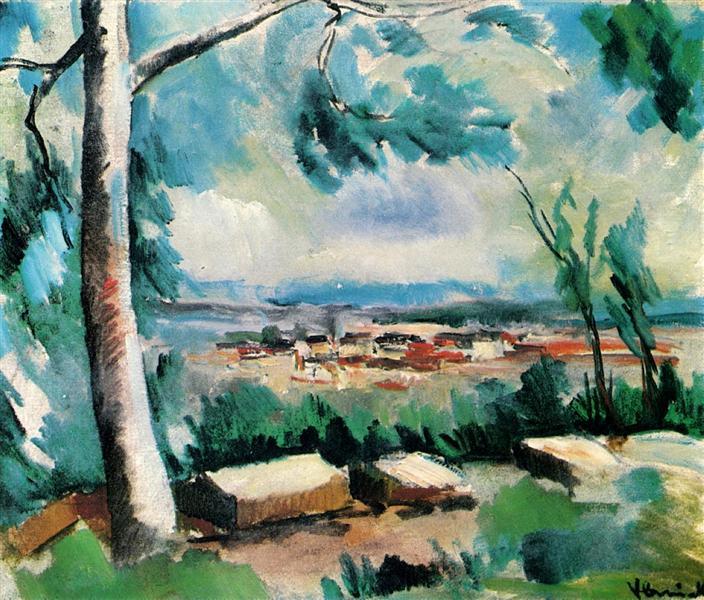 The Village, c.1912 - Maurice de Vlaminck