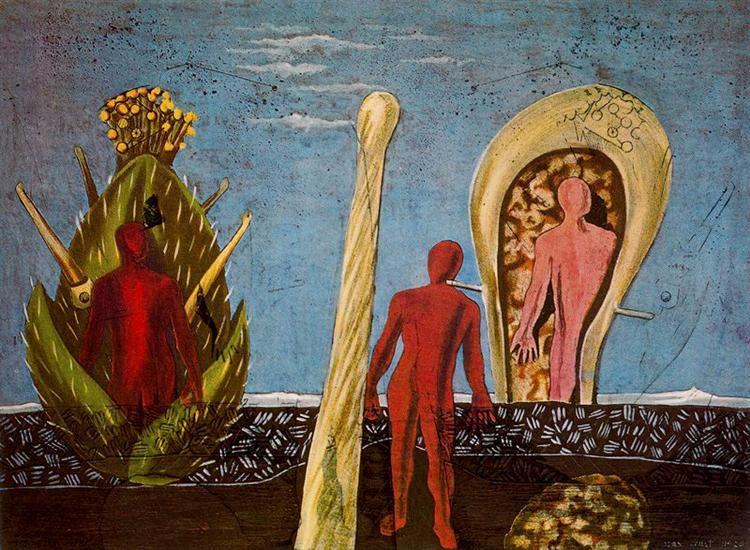 Dada-Gauguin, 1920 - Max Ernst - WikiArt.org