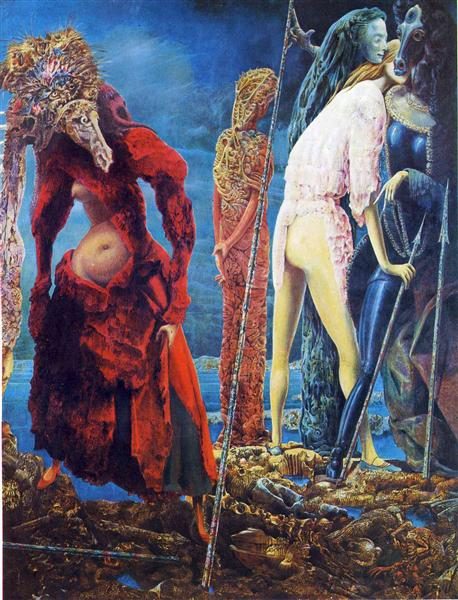 The Antipope, 1942 - Max Ernst