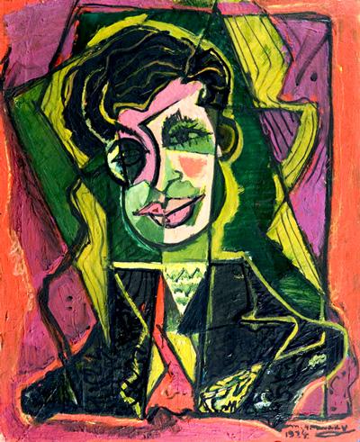 Portrait of Tristan Tzara, 1924 - M. H. Maxy