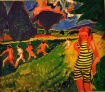 The yellow and black jersey - Max Pechstein