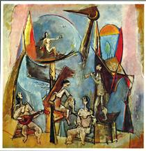 Le Muse - Max Weber