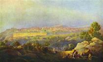View of Jerusalem - Maxim Nikiforowitsch Worobjow